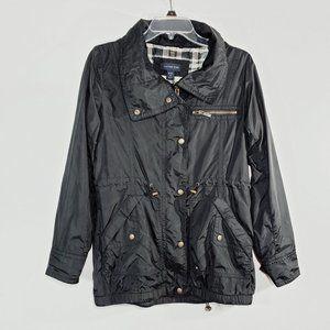 Lands End All Weather Hooded Rain Jacket JKT14